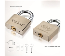 stainless steel padlock