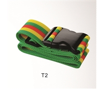 Luggage strapping type