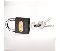 middle type iron/heavy duty iron padlock