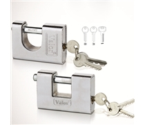 steel casing armoured padlock